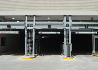 Ideal Steel fabricated the steel used for one of the parking garage entrances at Little Caesars Arena in Detroit, Michigan