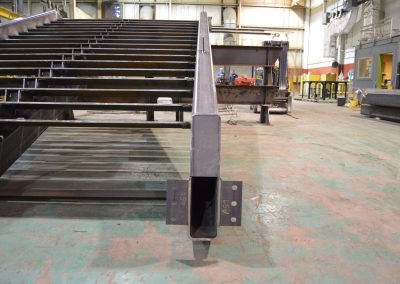 Winter Garden Ornamental Stair - steel fabrication