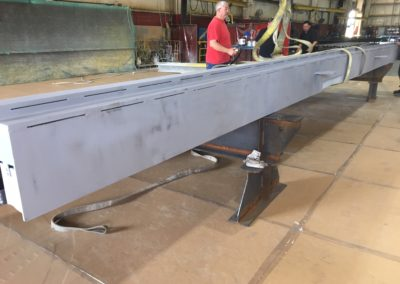 Ideal Steel's work on the Apple Pedestrian Bridges in Washington DC